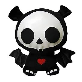 Skelanimals Diego (Bat) 6-Inch Beanie