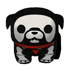 Skelanimals Max (Bulldog) 6-Inch Beanie