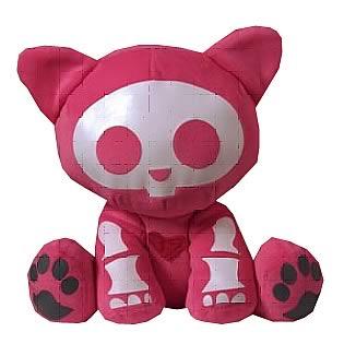 Skelanimals Valentine Kit (Cat) 6-Inch Plush