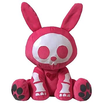 Skelanimals Valentine Jack (Rabbit) 6-Inch Plush