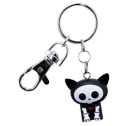 Skelanimals Kit (Cat) Keychain