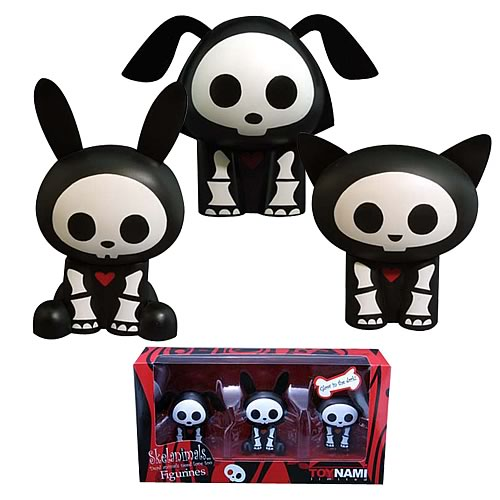 Skelanimals PVC Figure Box Set