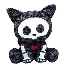 Skelanimals Dead in Plaid Kit (Cat) Plush