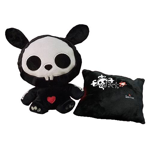Skelanimals Jack (Rabbit) Transformable Pillow Plush