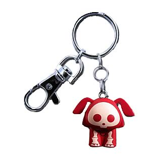 Skelanimals Dax (Dog) Red Key Chain