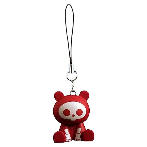 Skelanimals ChungKee (Panda) Red Mobile Phone Charm