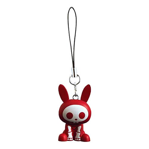 Skelanimals Jack (Rabbit) Red Mobile Phone Charm