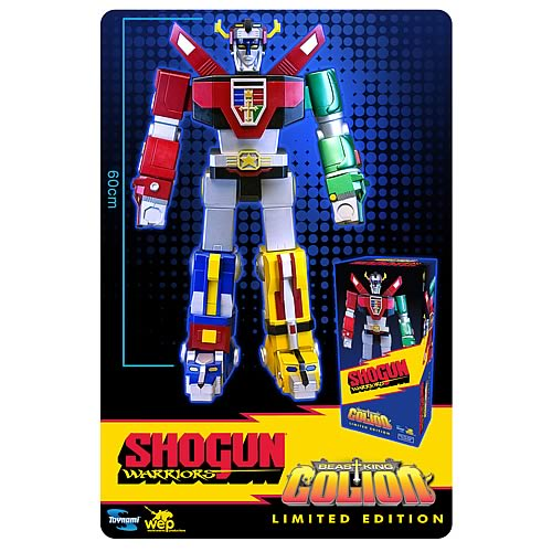 Shogun Warriors Beast King GoLion Jumbo Voltron Figure