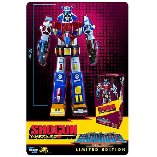 Shogun Warriors Dairugger Jumbo Vinyl Vehicle Voltron Figure