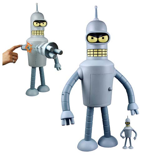 Futurama Bender Shogun Warriors 24-Inch Vinyl Figure