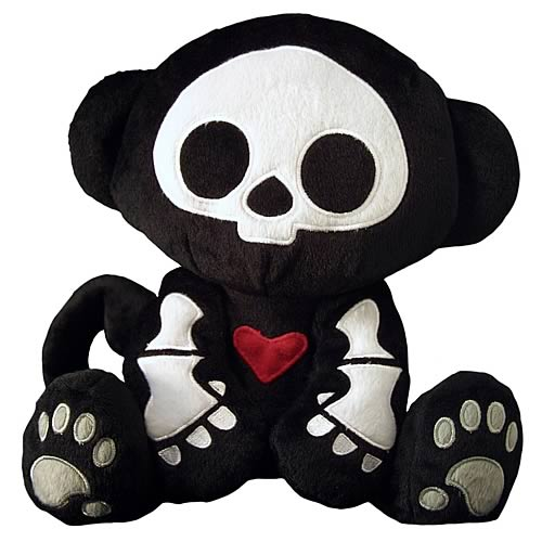 Skelanimals Marcy (Monkey) Deluxe 8-Inch Plush