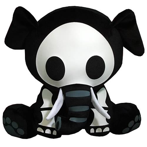 Skelanimals Ellie (Elephant) Deluxe 8-Inch Plush
