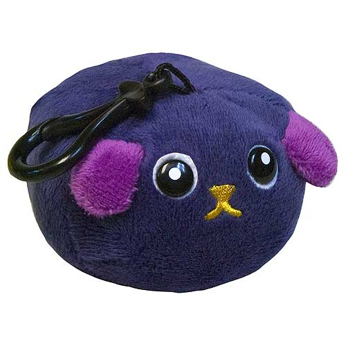 Mameshiba Black Bean 4-Inch Clip-On Plush