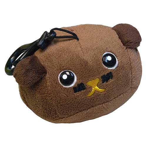 Mameshiba Mocha Bean 4-Inch Clip-On Plush