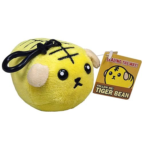 Mameshiba Series 2 Tiger Bean 4-Inch Clip-On on Plush