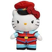 Street Fighter Hello Kitty M. Bison 11-Inch Plush