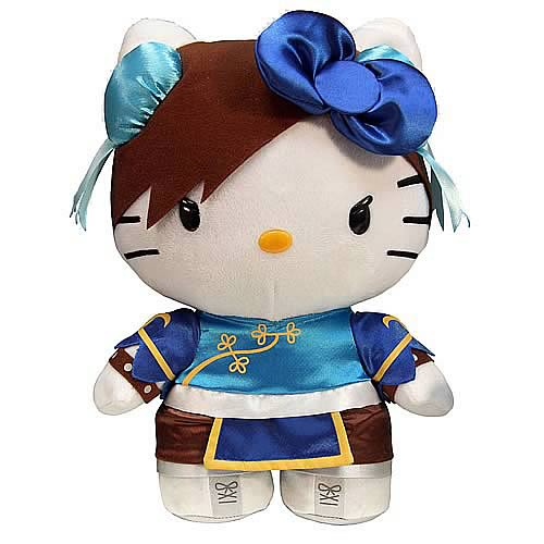 Street Fighter Hello Kitty Chun-Li 6-Inch Plush