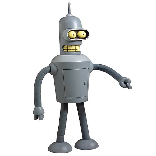 Futurama Talking Bender Action Figure