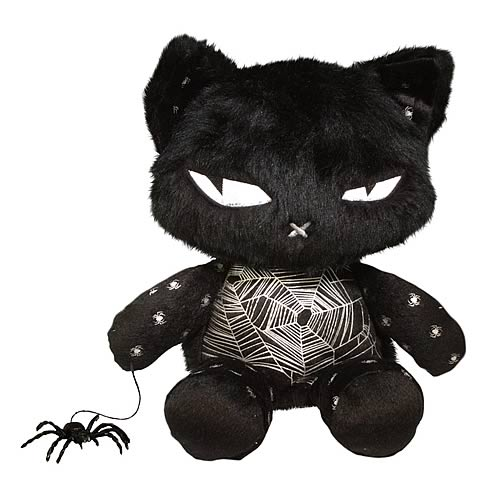 Emily the Strange Nee Chee Spider Patchwork Kitty Plush