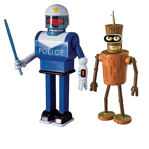 Futurama Series 9 Action Figures Set
