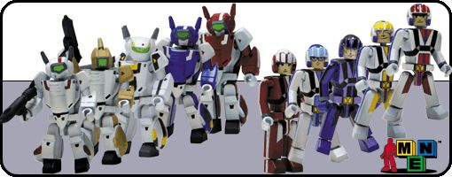 Robotech I-Men Series 1 Case