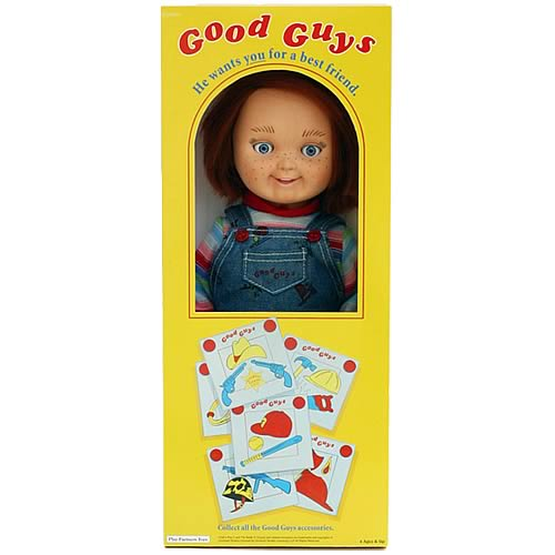 Child's Play 12-Inch Good Guy Doll Chucky Replica - Yamato ...
