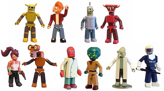 Futurama I-MEN Series 1 Set