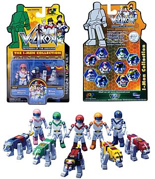 Voltron I-MEN Series 1 Set