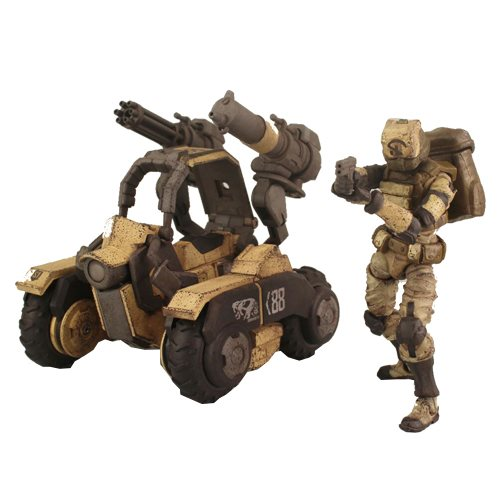 Acid Rain Amphista 88th Sand Team Action Figure
