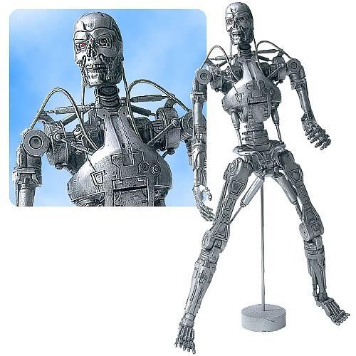 T2 Endoskeleton Statue - Battle Damaged