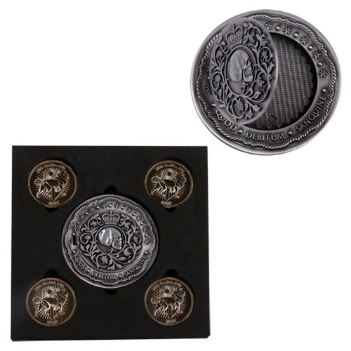 John Wick 2 Blood Oath Marker and Coin Prop Replica Set