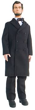 Abraham Lincoln Talking 12-inch Figure