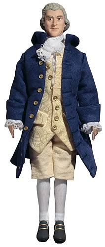Thomas Jefferson Talking 12-inch Figure