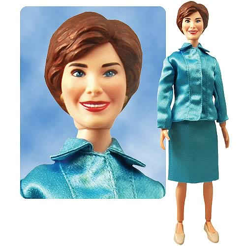 Laura Bush Talking 12-inch Figure