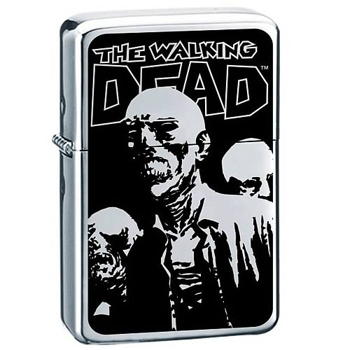 Walking Dead Dead Rules Premium Enamel Lighter