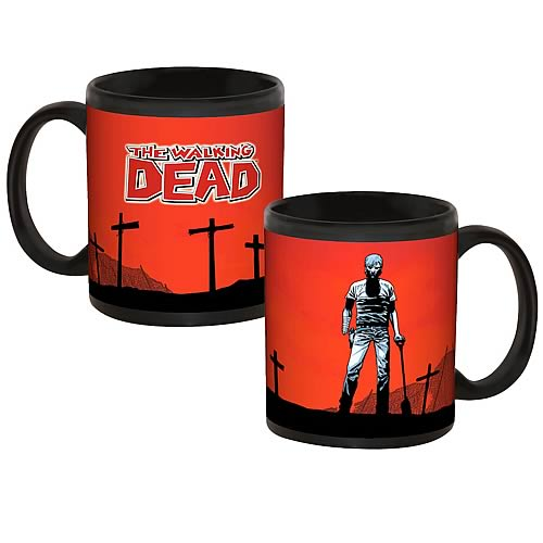 Walking Dead Comic Buried Mug