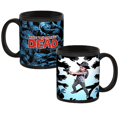 Walking Dead Comic Surrounded Mug