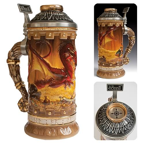 The Hobbit Smaug the Magnificent Legendary Collection Stein