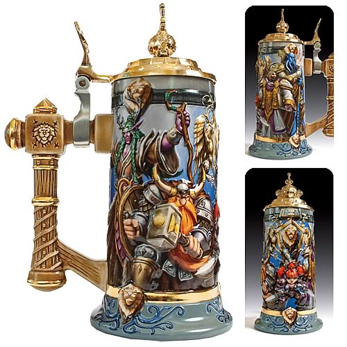 World of Warcraft  Alliance United Legendary Coll. Stein