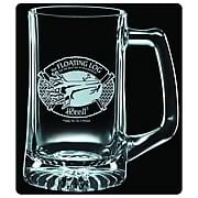 The Hobbit Floating Log Premium Etched Glass Stein