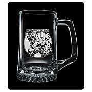 Incredible Hulk Premium Etched Glass Stein