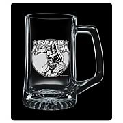 Captain America Premium Etched Glass Stein