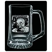 Walking Dead Rise and Feed Premium Etched Glass Stein