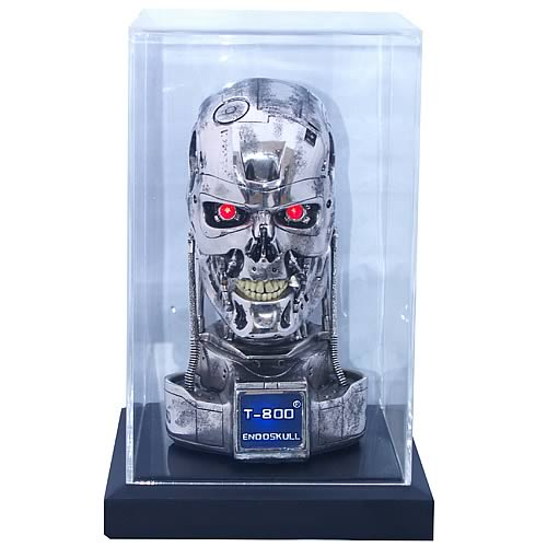 Terminator 2 Endoskeleton Battle Damaged Skull Replica