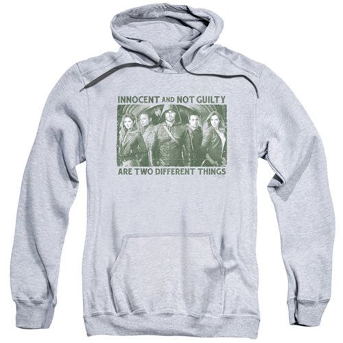 Arrow TV Series Not Guilty City Hoodie