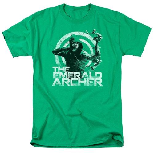 Arrow TV Series The Emerald Archer T-Shirt