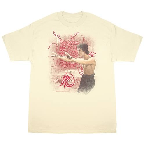 Bruce Lee Power of the Dragon T-Shirt