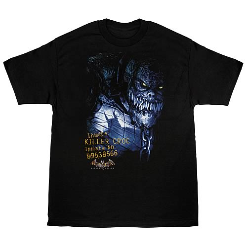 Batman Arkham Asylum Killer Croc T-Shirt