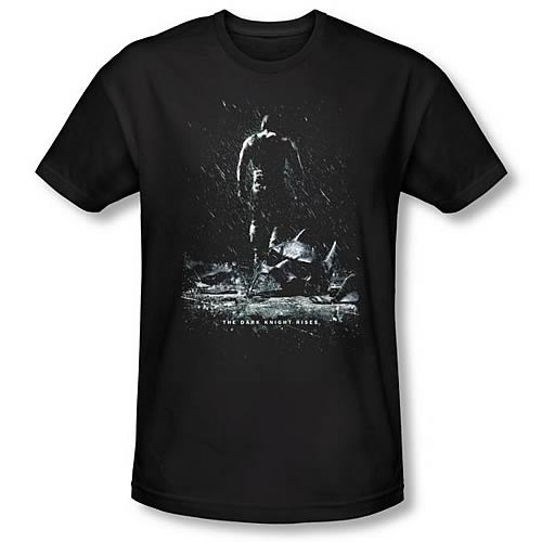 Batman Dark Knight Rises Bane Poster Black T-Shirt
