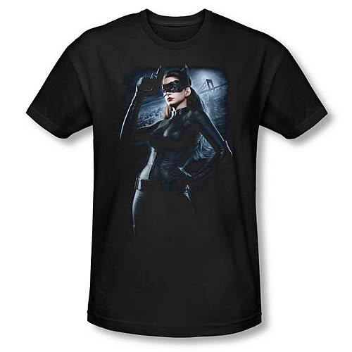 Batman Dark Knight Rises Out on the Town Black T-Shirt